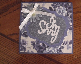 Handmade I'm Sorry Greeting Card