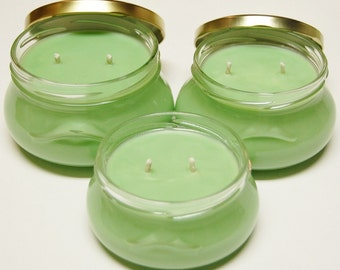 11 oz., 8oz & 6 oz  Tureen Jar Pure Soy Wax Candle