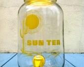 Vintage Southwestern Sun Tea Jar