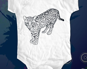 Cheetah 04a - graphic printed on Infant Baby One-piece, Infant Tee, Toddler T-Shirts - Many sizes