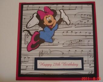 Happy Birthday Minnie Mouse