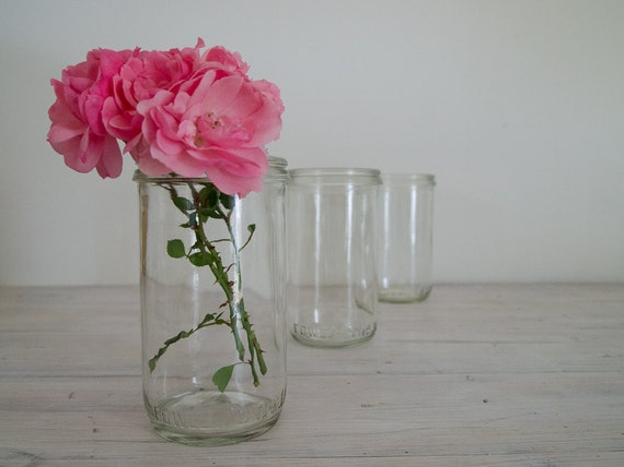 reserved for nicole - vintage quartet of medium (no. 31) fowler's preserving jars