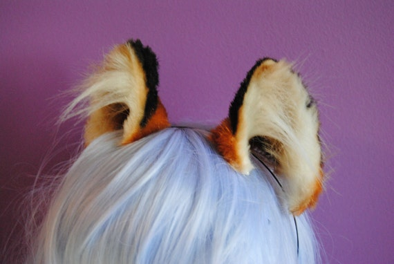 small red fox ears