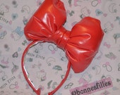 Red Puffy BOw