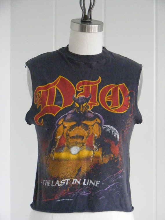 Reserved for B, Do Not Purchase 1984 Dio Tour T-Shirt, Last in Line Tour, Heavy Metal Rocker Tee