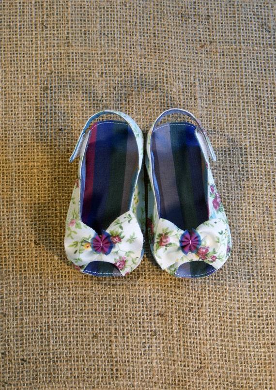 Skylar Shoes - PDF Pattern - Newborn to 18 months.