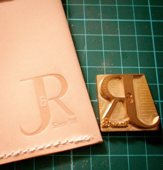 Diy Leather Embossing Stamp: Custom Leather Stamp For Embossing / Stamping Leather From