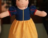 Waldorf  Snow White Doll by Jemilynndolls ready to ship