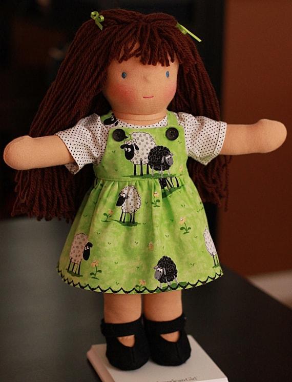 CLOTHES Waldorf Doll Dress