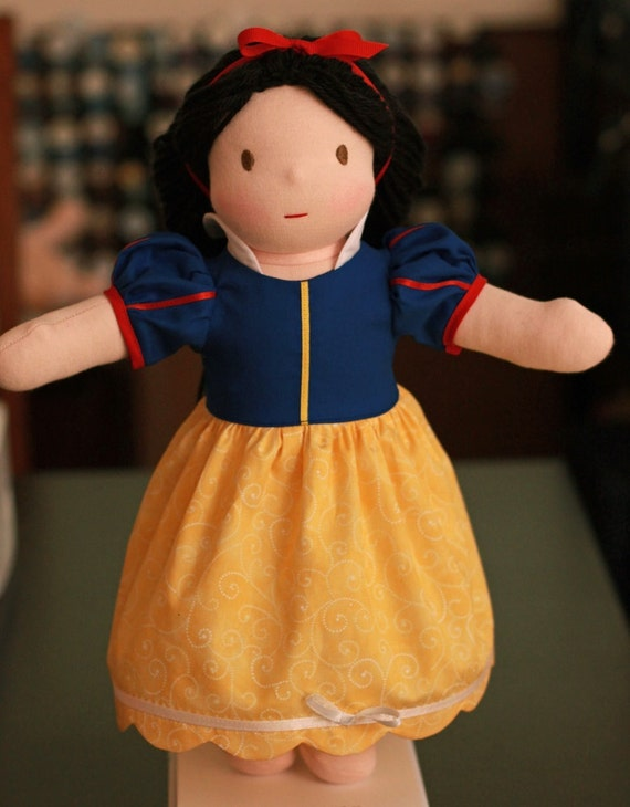 Waldorf  Snow White Doll by Jemilynndolls ready to ship