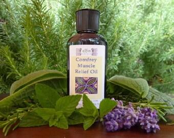 Comfrey Muscle Relief Massage Oil