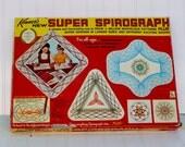 Vintage Super Spirograph No. 2400, 1969 Kenner, toy art supply