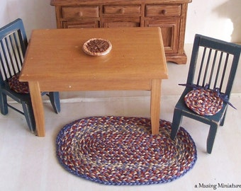 Braided Chair Pads Etsy