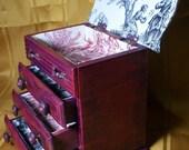 Dia De Los Muertos Custom Plush Jewelry Box