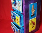 Rustic Loteria Cubby Box