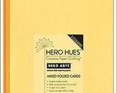 Hero Arts Sunshine Mixed Folded Cards Yellow Orange