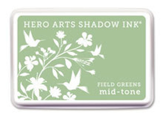 Hero Arts Field Greens Mid Tone Shadow Ink AF210