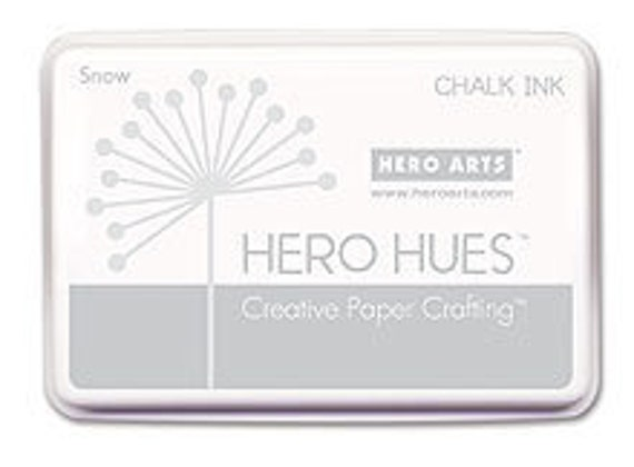 Hero Arts Snow Chalk Ink AF185 White Ink