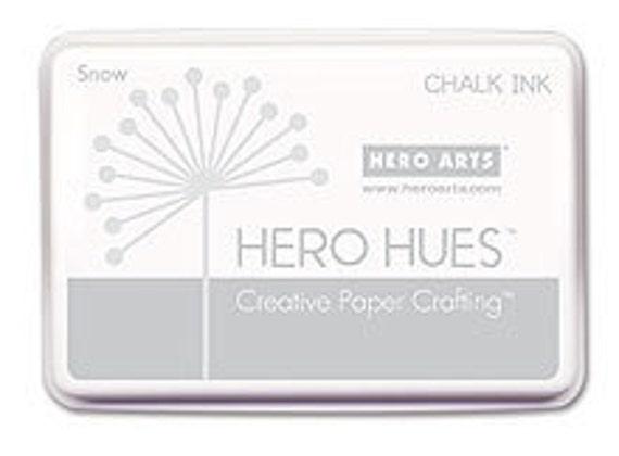 Hero Arts Snow Chalk Ink AF185 White Ink