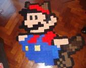 Instant Download Pattern - Inspired Super Mario Crochet Rug