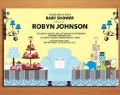 Baby Shower Party / Boy /  Baby Shower Invitation Cards / PRINTABLE / DIY