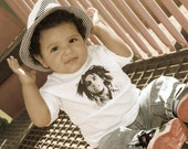 BOB MARLEY Toddler Kids Tshirt or Onesie...any size