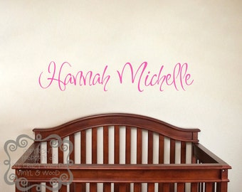Personalized Name - Vinyl Wall Art