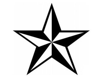 Nautical Star - Vinyl Wall Art