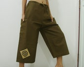 Very Dark Olive Green Pants 4/5 Size L