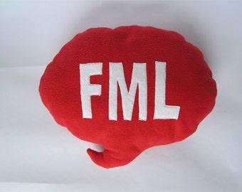 FML Speech Bubble Cushion
