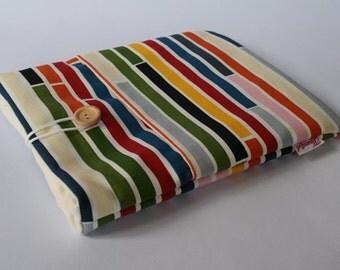 iPad Case - Multi Stripe Pattern
