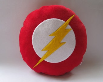 The Flash Logo Cushion