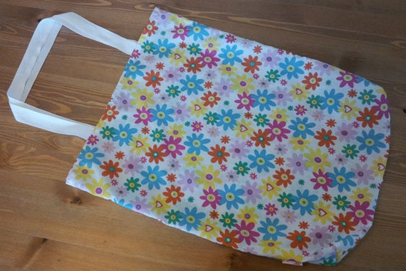 Spring Flowers Multicolour Tote Bag