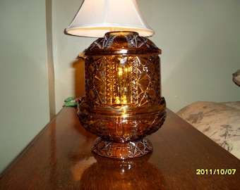 Popular Items For Glass Fairy Lamp On Etsy