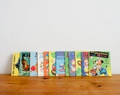 RESERVED  vintage french childrens books from the 1970's, small size