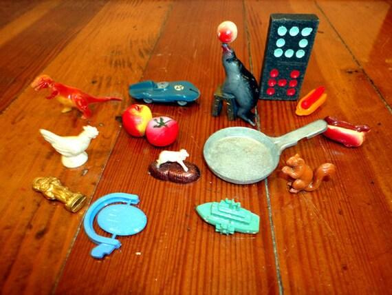 Vintage 60 S 1960 S Retro Cracker Jack Toys Mixed
