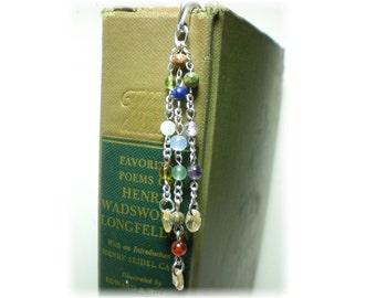 Signature Jerusalem Gemstones Shepherd's Hook Book Mark