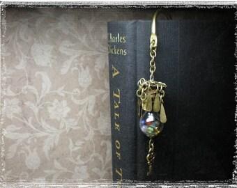 Vintage Look Gemstone Bookmark