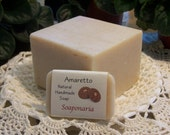 Amaretto Handmade Soap, Toasted almonds and honey, everyone's favorite