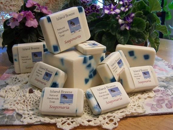 Island Breeze Handmade Soap, Fresh, clean and tropical,Awapuhi...