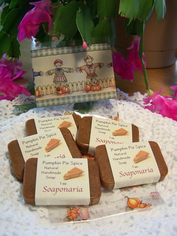 Pumpkin Pie Spice Handmade Soap