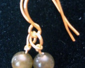 Labradorite Earrings (Pierced)