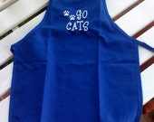 Fun for even the littlest Fan. . .Kentucky Wildcats-Go Cats-UK Embroidered Apron for Children