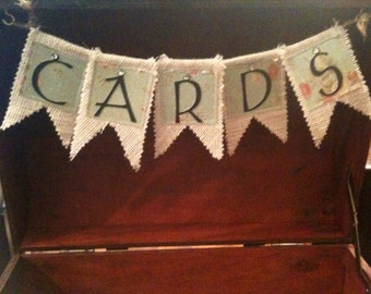 Wedding Card Box- Banner can be Customized