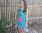 Dr. Seuss Cat in the Hat  Knot Jumper dress Custom Size New Lower Price
