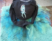 Monster High T Shirt and Tutu set  custom size 2t - 10 / 12