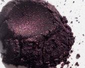 Deep Purple Natural Vegan Sustainable Eyeshadow . Sugar Plum Fairy