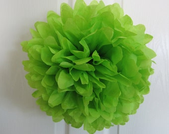 Tissue Paper Pom Pom, Wedding, Showers and Party.. 1 Small...YOU PICK COLOR