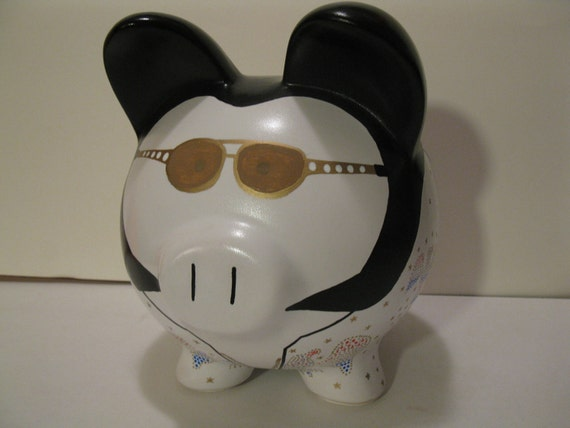Elvis Piggy Banks - Made To Order - Would you believe......ELVIS   (Unofficial)