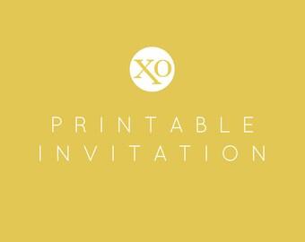 Printable Invitation